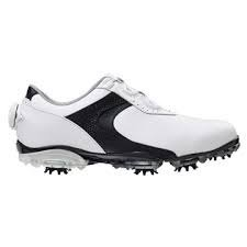 footjoy boa Foot-Joy Dryjoys Boa W Golfschuhe, White/Black, 39