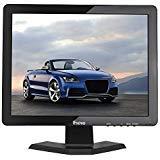 Schermo di colore del monitor dell'affissione a cristalli liquidi CCTV HDMI HD di 1280x1024 di Eyoyo da 19 pollici con l'uscita del trasduttore auricolare di BNC / VGA / AV / HDMI / USB,