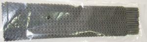 fuba 48 Colliers de Serrage Souples ou rilsans Noirs avec des Trous sur Toute la Longueur 10x300mm
