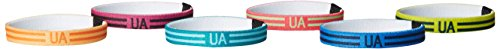 Under Armour Graphic Mini Wrist Hairbands, Neo Pulse (678)/Magenta Shock, One Size