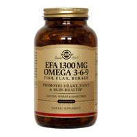 Solgar EFA 1300 mg Omega 3-6-9 Softgels