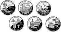 2009-D State Quarter Set: 6 Coins by US Mint