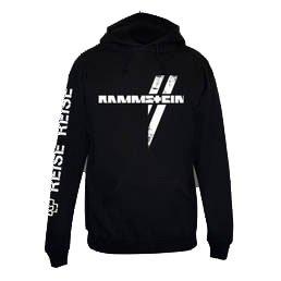 Rammstein -  Felpa con cappuccio  - Uomo nero XL