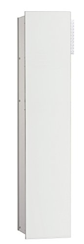 emco asis WC-Modul 2.0,1-türig, rechts UP, 811mm,ohne Einbaurahmen,Alu/Optiwhite