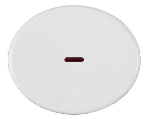 Niessen tacto - Tecla interruptor conmutador con visor tacto blanco