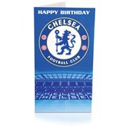 Chelsea Crest Happy Birthday Card - One Size Only
