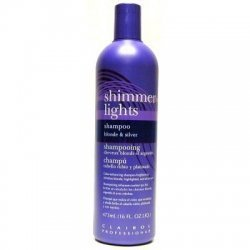 Clairol Silver Shampoo (Clairol Professional Shimmer Lights Shampoo blonde & silver,16 fl.oz by Clairol Professional [Beauty] (English Manual))
