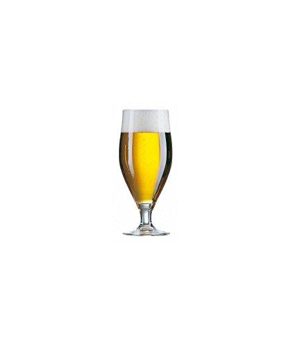 Verre à pied bière Cervoise 26 cl Arcoroc Professionnal non trempé 07135 - Lot de 6