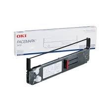 Okidata Original Marke, OEM 52105801schwarz-Farbband (7,5m Zeichen) für Pacemark 3410Drucker - Pacemark 3410 Farbband, Schwarz