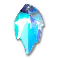 Foglia Swarovski 6735 mm. 26x16 Crystal AB x1