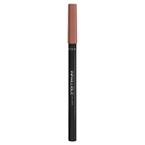 L'oréal paris infallibile lip liner matita labbra a lunga tenuta, 101 gone with the nude