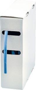 Schrumpfschlauch 3,2 mm blau, Länge 20m