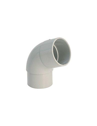 Coude 45° M/F gris - diamètre 80 mm - Girpi