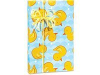 Ducky Waves Gift Wrapping Roll 24