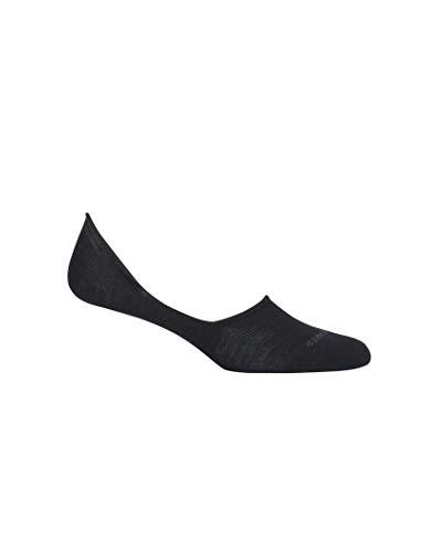 Icebreaker Merino Damen Lifestyle Fine Gauge No Show Socks sportliche Strümpfe, schwarz, Medium - Puma Top Gear