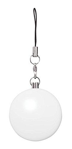 Wedo 205260200 LED Handtaschenlicht rund, mit Infrarotsensor, automatisches An & Aus, Clip, Ø 4 x 2,5 cm, inklusiv Batterien, weiß (Suche Handtaschen Großhandel)