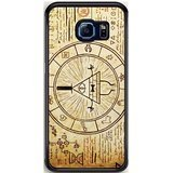 The Gravity Falls Intrigue Triangle for Samsung Galaxy S6 Edge case cover