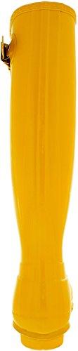 Hunter Original Tall Gloss Femme Boots Jaune Jaune