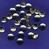 19mm Metal Self-Cover Buttons x 10