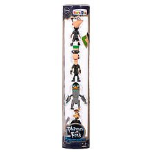 Exclusive Phineas and Ferb Action Figures 4-Pack