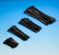 100 Kabelbinder 2,5 x 200mm schwarz von obodi auf Lampenhans.de