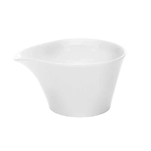 Kahla - Porcelaine pour les Sens 393203A90039C Five Senses Saucière Blanc 10 x 6 cm