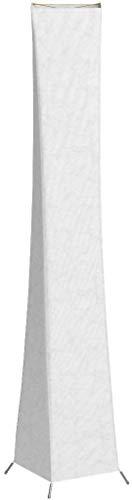 lvyuan Lámpara de Pie Moderna Bombilla LED RGB incluida para la Decoración de la Sala de Estar 26x26x132cm Europäischer Netzstecker (132 * 26CM+LED RGB Bulbs)