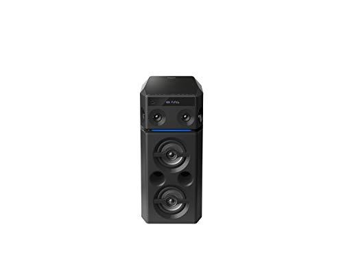 Panasonic SC-UA30E-K Urban Audio System incl(Bluetooth, Radio, USB, AUX, 2 Mikrofon-Eingänge, schwarz) -