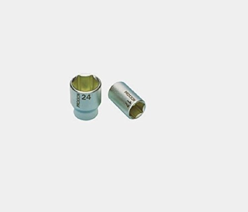 "Proxxon 23 426 Vaso de 1/2\"", Tamaño 27mm, Longitud Total 19mm"