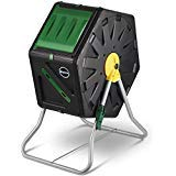 Miracle-Gro Small Composter – Compact Single Chamber Outdoor Garden Compost Bin – Heavy