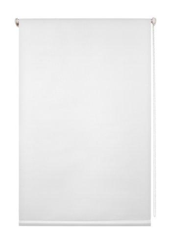 Lichtblick Thermo-Rollo, 90 cm x 220 cm (B x L) in Weiß, ohne Bohren, Sonnen-, Sicht-, Hitze- & Kälte-Schutz, reflektierende Thermofunktion, Klemmfix für Fenster & Türen