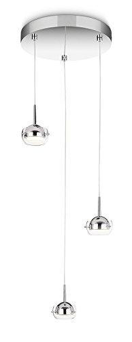 Philips CYPRESS Suspension LED design luminaire d'intérieur Métallique Métal