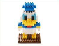 TDR Donald Duck nano block Tokyo Disney Resort Limited DONALD DUCK nanoblock japan import