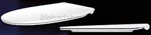 VitrA Bad 534030 WC-Sitz Era Premium F0202Y weiß mit SoftClose Deckel. und Take Off Befestigung aus Edelstahl