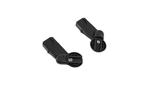 Maxi-Cosi Gia Adapter Set, für Maxi-Cosi Babyschalen wie Rock, Pebble Plus, Pebble Pro, CabrioFix, uvm, schwarz