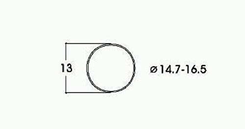 Preisvergleich Produktbild Roco 40071 - Roco HO - Haftringsatz DC Gleichstrom - 14,7 - 16,5 mm