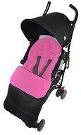 Saco/Cosy Toes Compatible con Bebecar Spot carrito de bebé, color rosa