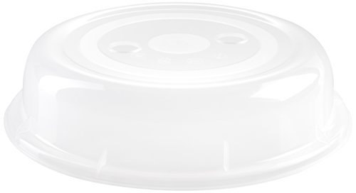 wenco Mikrowellenteller-Abdeckhaube, Ø 26 cm, Kunststoff, Transparent, 530460