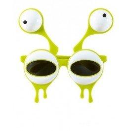 Widmann wid14402–Brille Alien mit zwei Augen, gelb, -