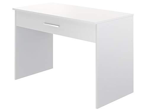 Movian Indre moderner  Schreibtisch mit 1 Schublade, 56 x 110 x 73, Weiß