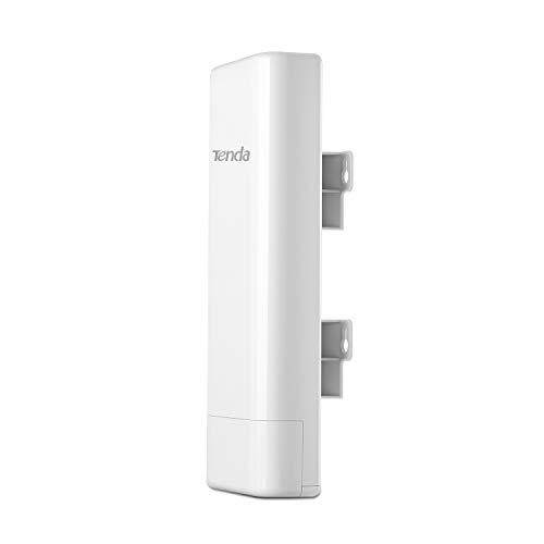Tenda O3 Outdoor Access Point Esterno Wi-Fi N150 Mbps, 2.4GHz, 2 * 10/100Mbps Ethernet Port, Poe Passivo, -30℃ ~ 60℃, IP64 Waterproof Enclosure, Protezione da fulmini 6000V