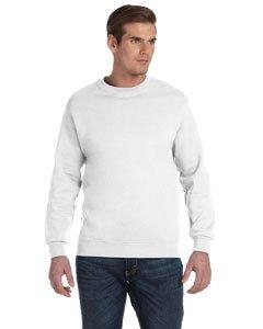 Gildan Heavy Blend Sweatshirt mit Rundhalsausschnitt (XL) (Weiß)
