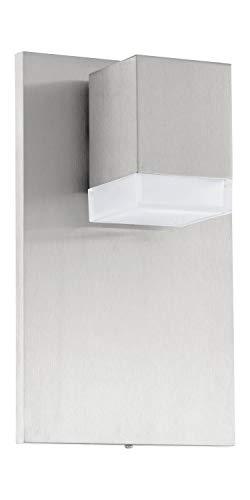 Design LED Außen Beleuchtung Hausnummer Schild Wand Leuchte Würfel Lampe Eglo 78057
