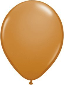 100 Ballon Marron Moka Mocha Brown Taille 12 cm (5)
