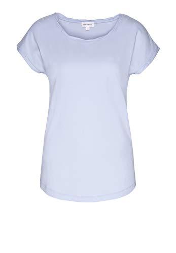 ARMEDANGELS Damen T-Shirt aus Bio-Baumwolle - Laale - L Breeze Blue Fairtrade, GOTS, Organic, CERES-08