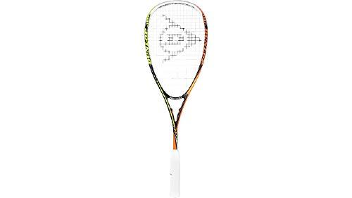 DUNLOP Damen Squash Racket Tempo Pro HQ Schwarz-Gelb-Orange, One Size