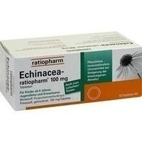 Echinacea-ratiopharm 100 mg Tabletten, 50 St.