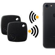 Preisvergleich Produktbild Safekeepers - 2PACK - Schlüsselfinder Bluetooth - Key finder – Schlüssel Tracker mit App für Handy - Iphone IOS und Android