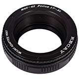 KECAY® Objektiv Adapter Ring M42 (42mm) an 42mm Mount Focusing Helicoid Ring Adapter 17mm - 31mm