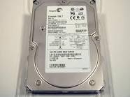 73 Gb Festplatte (Seagate Cheetah 10K.7 - Festplatte - 73GB - Hot-Swap - 3,5 - Ultra320 SCSI - Centronics (SCA-2), 80-polig - 10000 rpm - Puffer: 8MB (ST373207LC))
